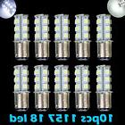 10x Super White T25/S25 1157 Bay15d 18-SMD 5050 LED Tail Bra