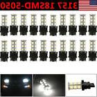 20X Pure White 3157 5050 18SMD LED Car Tail Brake Stop Light