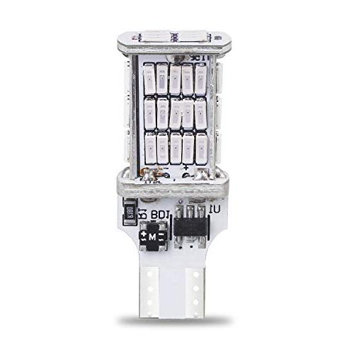 921 High-Mounted Super Bright LED Bulb 4014 SMD W16W | Flashing Brake Stop Lights | Pure