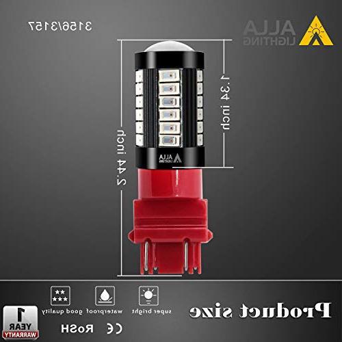 Alla Lighting Bulbs T25 3157 Bulb 5730 33-SMD 3157 Bulb 3457 4157 LED Signal Stop