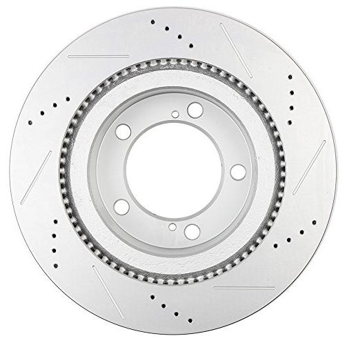 Automotive Replacement Brake Kits,ECCPP Full Discs Brake Rotors and Ceramic Brake 2008-2016 Toyota Land Cruiser,2010-2015 Toyota Tundra,Front and Rear