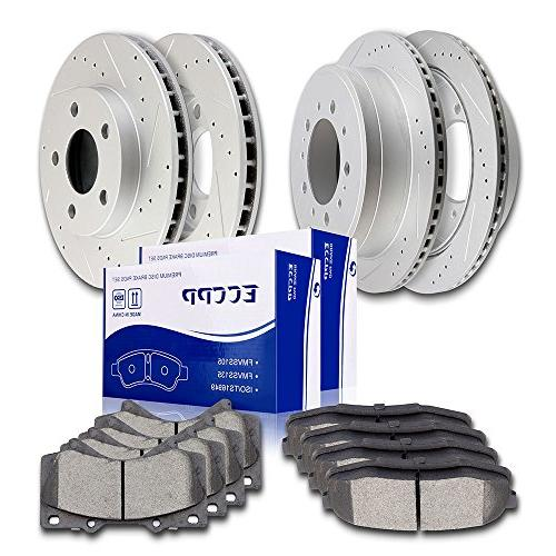 automotive replacement brake kits full set discs