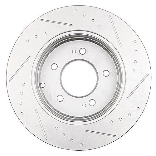 Automotive Replacement Rotors,ECCPP 2pcs 2006-2015 Hyundai Kia Optima