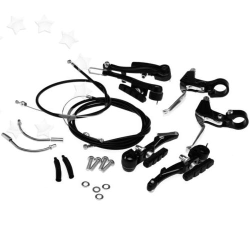 New Brake Levers Brakes Cables Set