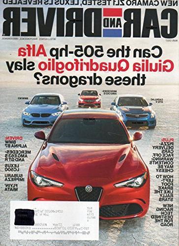 car driver magazine 2017 new cararo zl1 tested lexus reveale