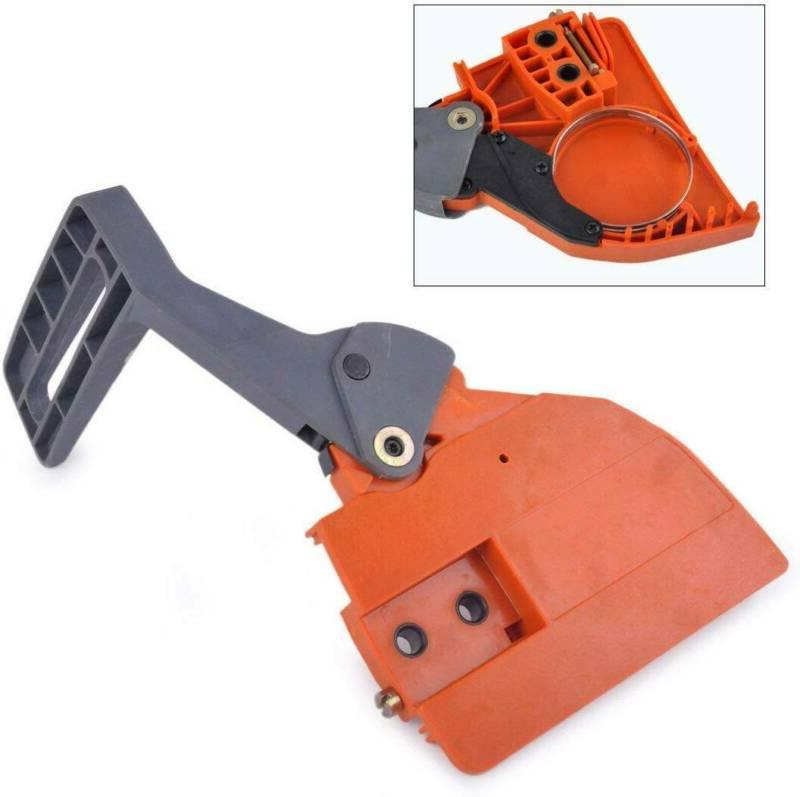 chainsaw brake handle w clutch sprocket cover