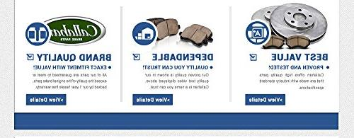 REAR 282 OE 5 Brake Disc Brake Pads +