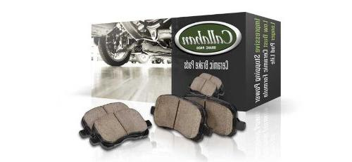REAR mm OE Disc Rotors Ceramic Brake Pads