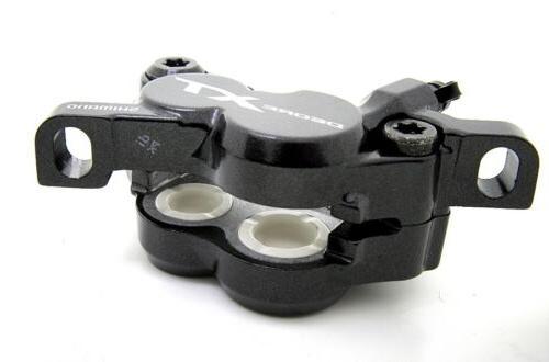Shimano 4-Piston Disc Brake Caliper w/ Set H01A