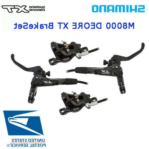 deore xt m8000 hydraulic brake set levers