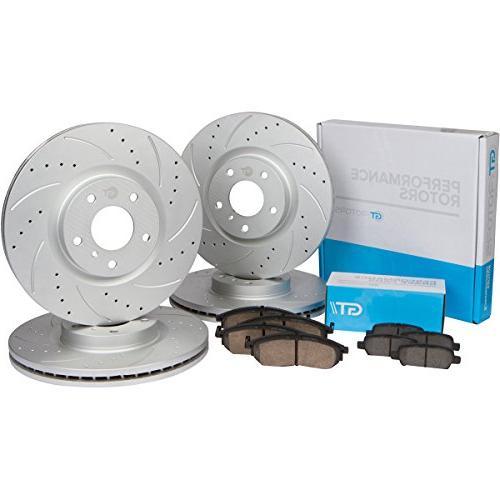 front rear set high performance brake disc