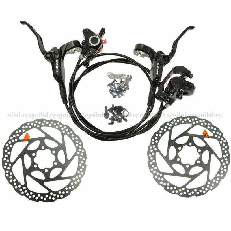 ShimanoM315/M355/M395/MT200 MTB Hydraulic Brakes Pre-Filled Rotors