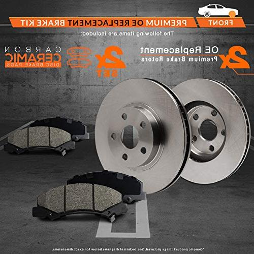 Max Series w/Ceramic Pads Premium Brake BMW 325xi