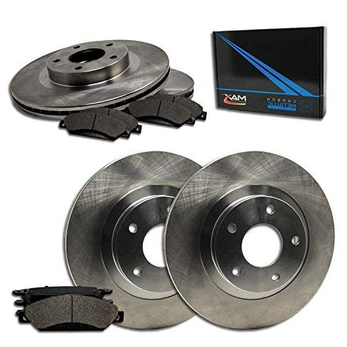 max brakes front rear oe series rotors