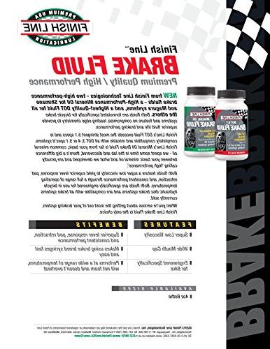 Finish Line High Performance Mineral Brake 4-Ounce
