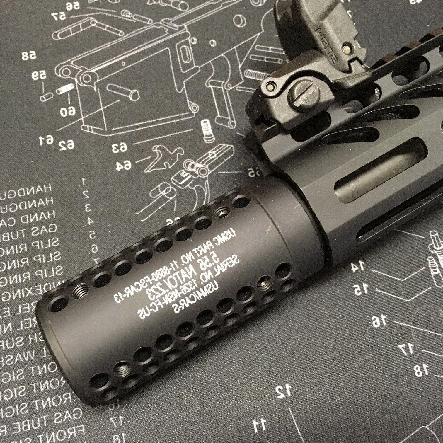 GUNTEC USA Mini SOCOM Slip-Over Barrel Shroud Muzzle Brake 2