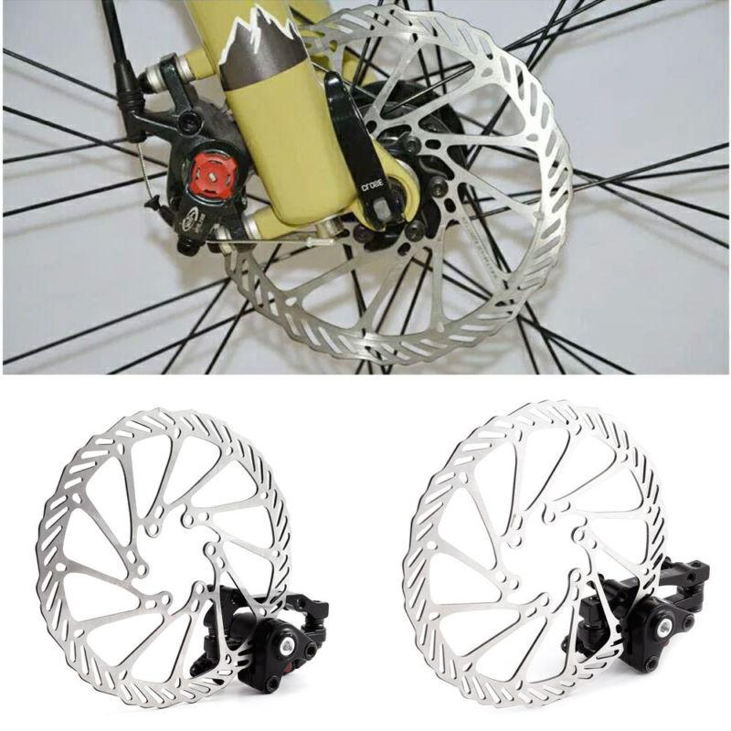 1 Pair Mountain Bike Bicycle Disk Disc Brake Caliper 160mm R