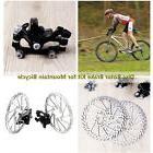 Mountain Road Bike Bicycle 160mm Rotors Front Rear Disc Brak