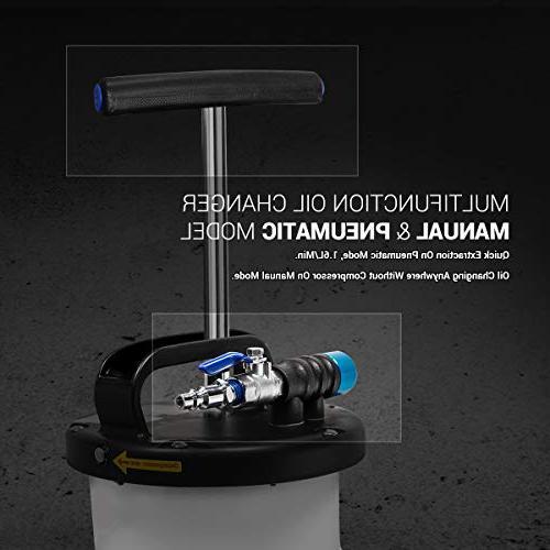 EWK 6.5L Oil Pump Fluid Evacuator Motor Oil Changer