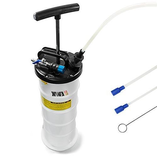 pneumatic manual 6 5l oil extractor pump