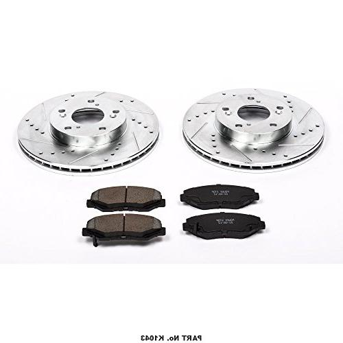 Power Z23 Brake with Drilled/Slotted Rotors Ceramic