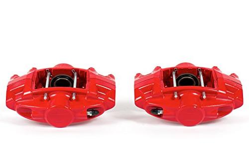 power stop s6182 red powder coated performance