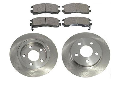 rear brake pad and rotor kit