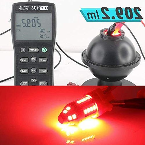 Red Rear Tail LED Light Bulbs