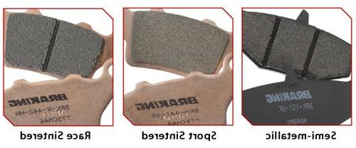 semi metallic brake pad for aprilia bmw