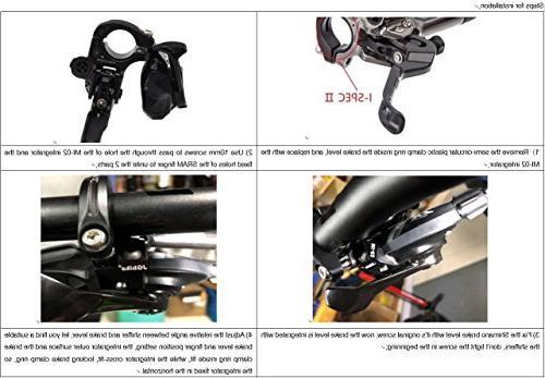 JGbike Shimano Brakes Hydraulic Brake Set, Resin Hose