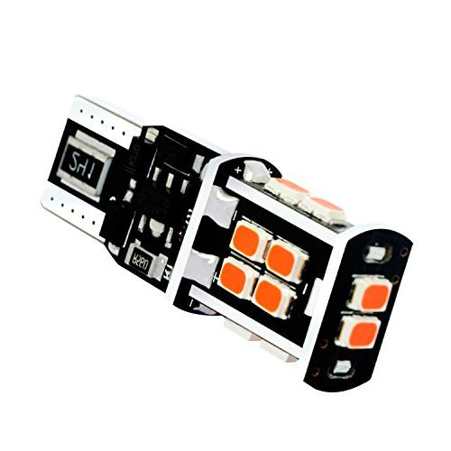 Alla Lighting T15 921 Bulbs Brake Pure Red LED SMD Center High-Mounted Lamp
