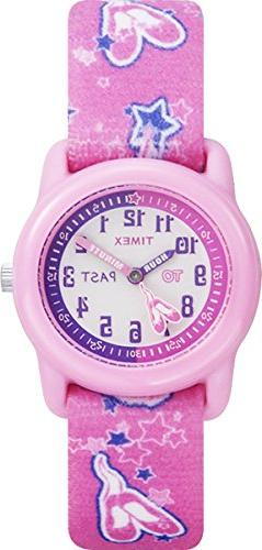 "Timex Kids' T7B151 ""Time Teacher Pink Ballerina"" Watch with"