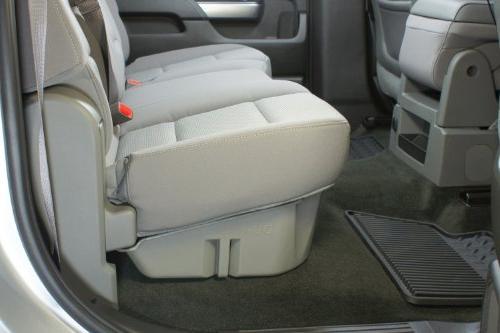 DU-HA 10300 Black Seat Storage