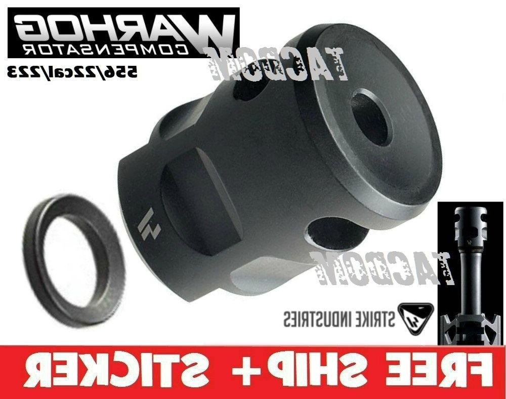 warhog compensator muzzle brake 5 56 22lr