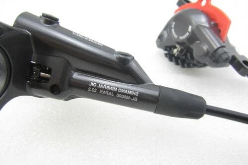 Shimano XT Hydraulic Disc Brake Set Front&Rear