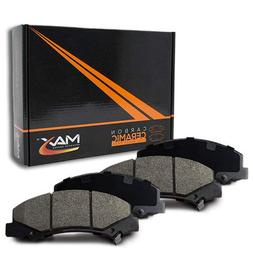 Max Brakes Front Carbon Ceramic Performance Disc Brake Pads