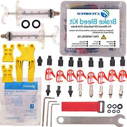 CYCOBYCO Mineral Oil Bicycle Hydraulic Disc Brake Bleed Kit
