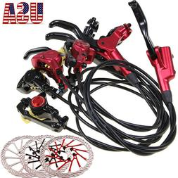 MTB Bike Hydraulic Disc Brakes Calipers 160/180/203mm 6 Bolt