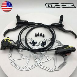 MTB Bike Hydraulic Disc Brakes Front&Rear lever Calipers R