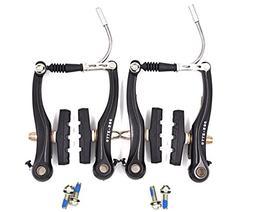 CYSKY MTB Mountain Bike V-Brake Front Rear Pair Set for Two