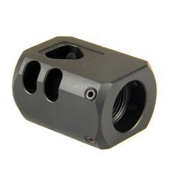 Muzzle Brake 1/2x28 TPI Compensator For 9mm Glock