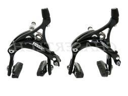 New Tektro R539 Road Bicycle Bike Caliper Brake F&R Set Blac