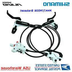 SHIMANO Alivio BL-M506 BR-M447 2 Pistons Hydraulic Disc Brak