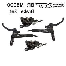 New SHIMANO XT M8000 Hydraulic Disc Brake Set Levers Pair MT