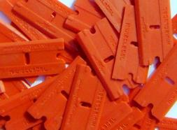 Plastic Razor Scraper Blades Double Edged