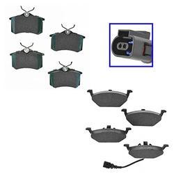 Posi Ceramic Disc Brake Pad Front & Rear Kit for VW Beetle J