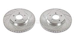 Power Stop AR8171XPR Front Evolution Drilled & Slotted Rotor