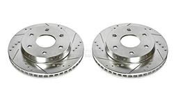 Power Stop AR8640XPR Front Evolution Drilled & Slotted Rotor