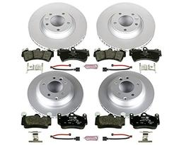 Power Stop ESK4500 Front and Rear Euro-Stop Brake Kit