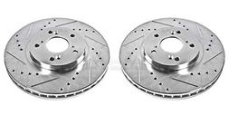 Power Stop JBR923XPR Front Evolution Drilled & Slotted Rotor
